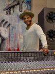 Kirk Franklin in his music studio